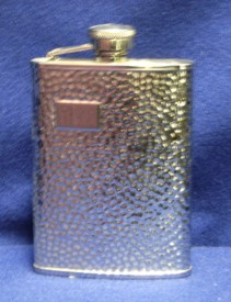 Hammer Finish Flask